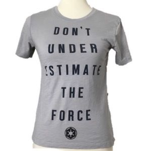 Star Wars Don't Under Estimate the Force T Shirt M